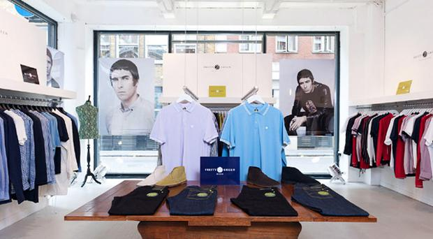 The Pretty Green label is owned by former Oasis frontman Liam Gallagher