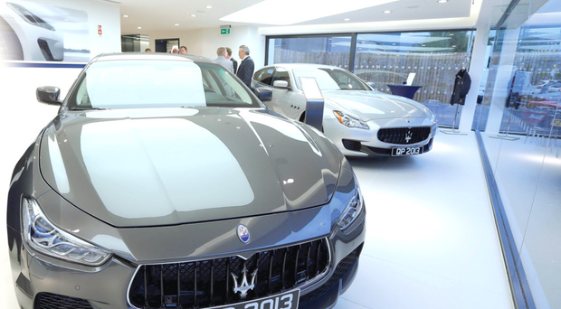 Italian stallion: 27 Maseratis were sold in Northern Ireland in 2014