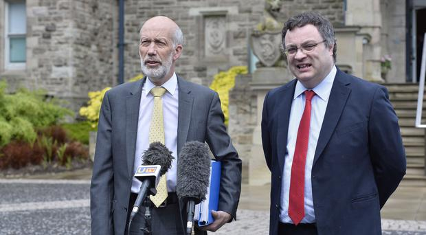 Alliance ministers David Ford and Stephen Farry