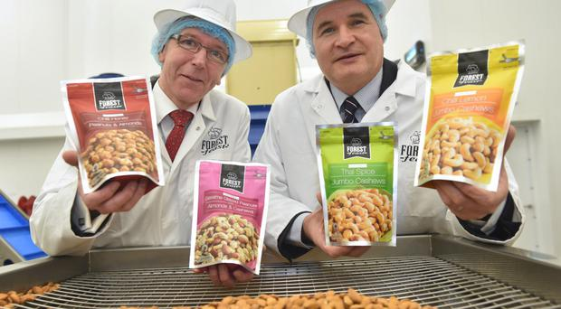 Kestrel Foods' new investment augurs well for the future - Invest NI's Brian Dolaghan with Michael Hall from the company.