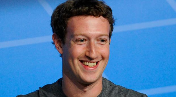 Co-founder, chairman and CEO of Facebook Mark Zuckerberg