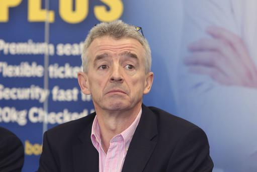 Ryanir CEO Michael O'Leary