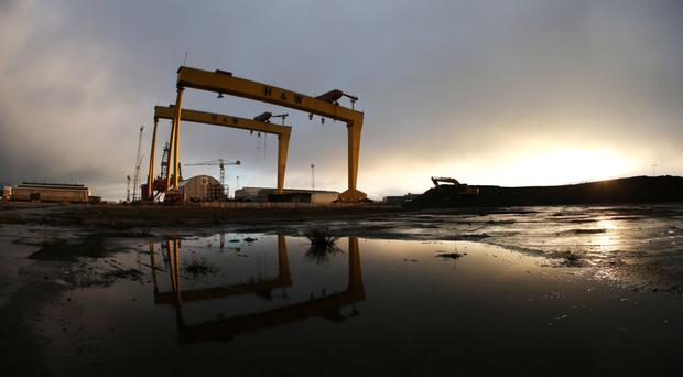 The Samson and Goliath cranes of Harland & Wolff