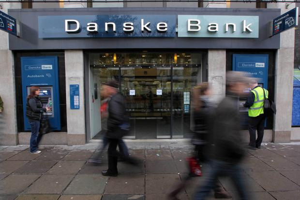 Danske Bank have complained on social media about problems with ATM withdrawals
