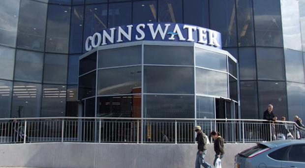 Connswater in east Belfast