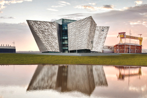 Vote to make Titanic Belfast one of the 21 landmarks that define Britain in the 21st century.