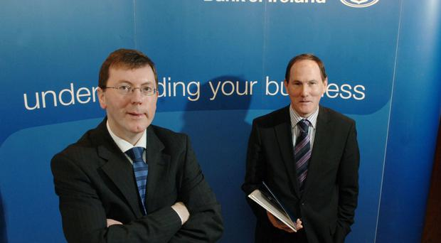 Storm warning: Alan Bridle, chief economist at the Bank of Ireland, said the 'Brexit' would have a