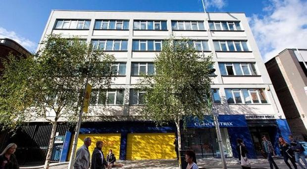 In the news: Concentrix offices in Fountain Street, Belfast