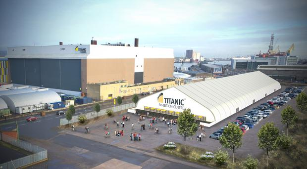 Up to 300 exhibitors could use a Titanic Quarter conference site
