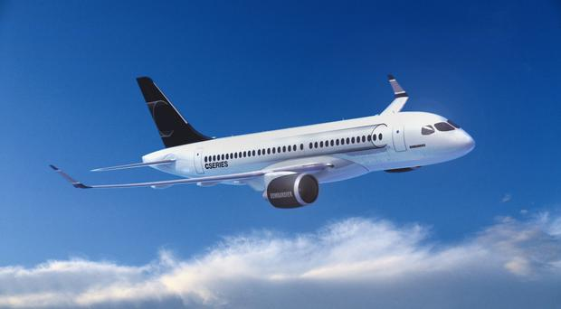 Bombardier has received a potential order from flymojo for its CS100 aircraft