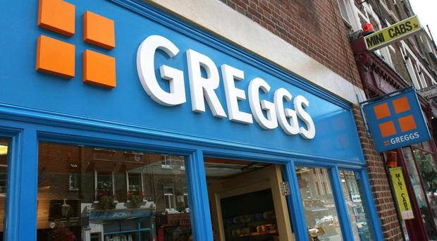 Greggs Bakery is to open its first shop in Northern Ireland at a new service station on the M2