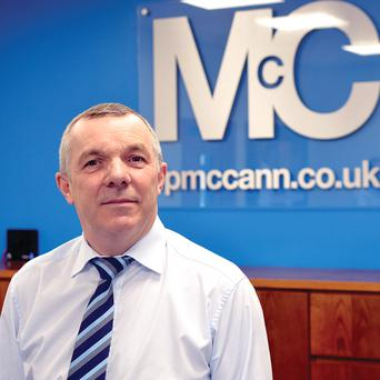 Eoin McCann, managing director of FP McCann in Magherafelt