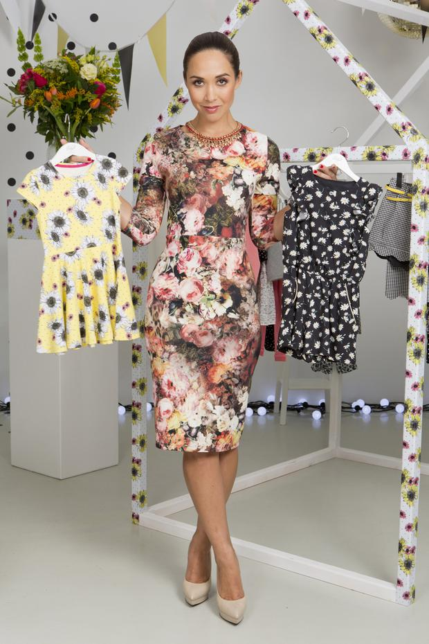 Myleene Klass has designed 'Baby K', a range of baby and children's clothes for Mothercare