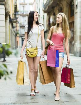 Northern Ireland retailers' fortunes have improved in eight of the last 12 months, according to new figures