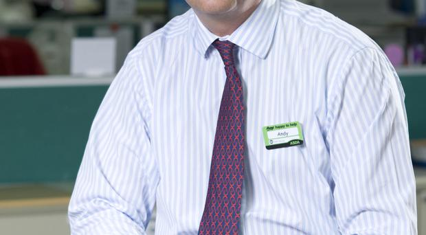 Andy Clarke, president and chief executive of Asda