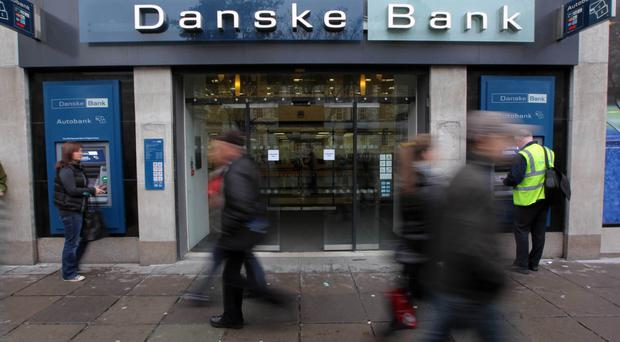 Less is more: Danske Bank has benefited from closure of high street branches.