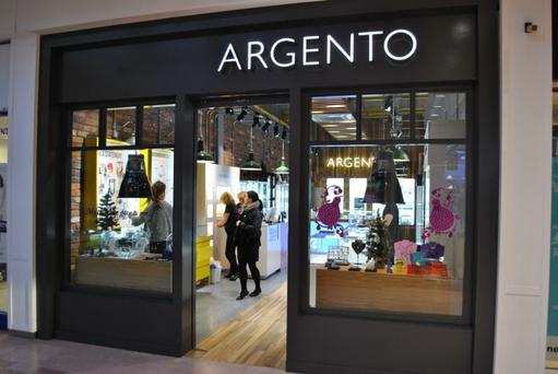 Argento has 50 stores located throughout the UK and Ireland
