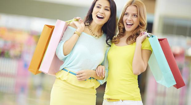 The warm weather helped to drive up the sales of spring/summer clothing