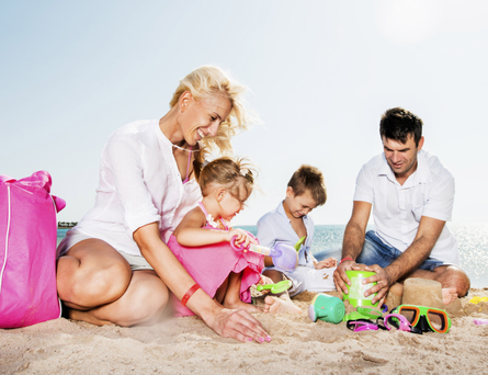 A dream family holiday doesn't have to break the bank