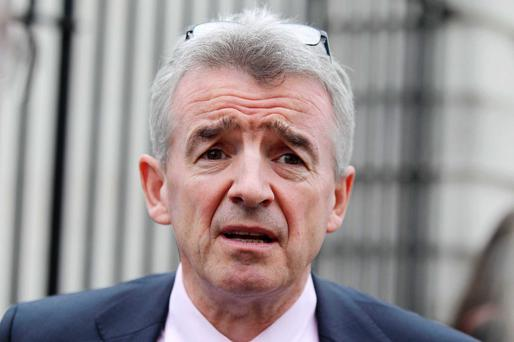 Angry: Ryanair's Michael O'Leary
