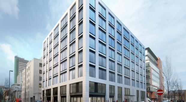 An artist's impression of the new Clarendon House