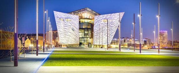 Harcourt was behind the regeneration of Titanic Quarter