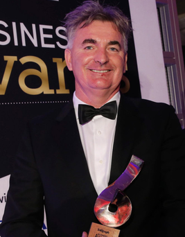 Brian Conlon was named business personality of the year