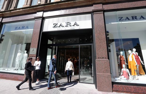 The massive new Zara store which was recently opened in Belfast