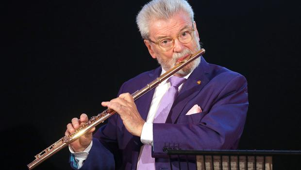 Wrong note: Sir James Galway should have had the wit not to mix politics with plugging his TV show