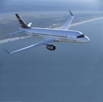 The CS100 will be showcased at the Paris Air Show