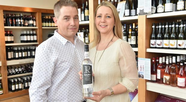 Stuart and Barbara Hughes are delighted with the response to their RubyBlue vodka