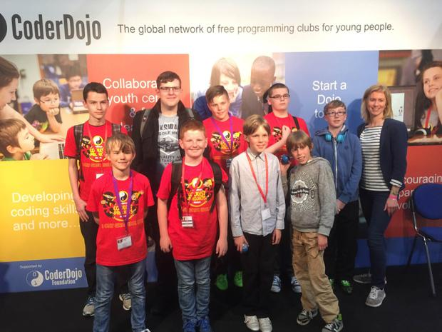 Computer coding kids from Co Londonderry have been named runners-up in the biggest youth technology event in the world
