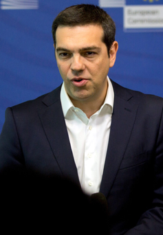 Greek Prime Minister Alexis Tsipras is engaged in a round of talks with the heads of the European Central Bank, the International Monetary Fund and the European Commission