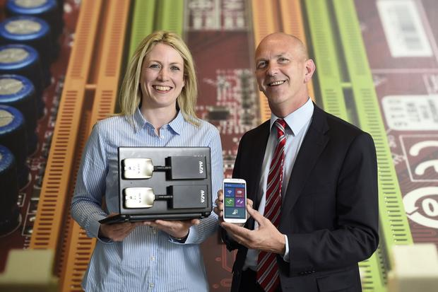 Heather Grills and George McKinney, Invest NI
