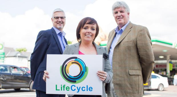 RSM McClure Watters' Richard Gardiner and Clare Galloway join Niall Creighton of the Creighton Group to launch the advisory service Lifecycle