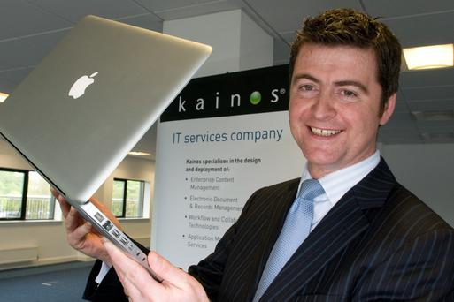 Kainos only had 12 employees when Brendan Mooney first joined, but now has nearly 800