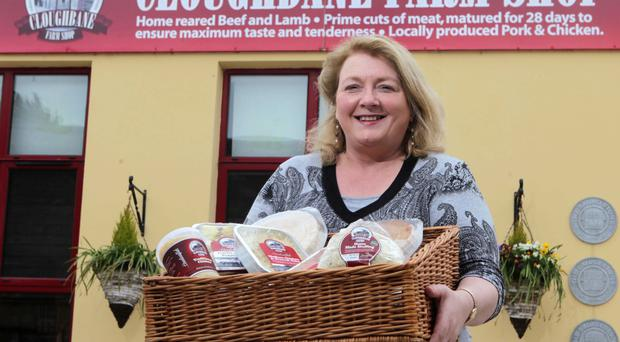 Lorna Robinson's company has produced around 20,000 pies and other food products a week