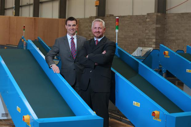 Neil McCabe, senior investment manager with WhiteRock Capital Partners and Philip Trimble, managing director at ConveyorTek