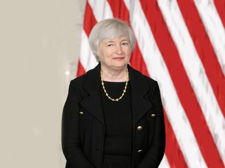 Janet Yellen, chair of the board of the US Federal Reserve, which is also considering increasing rates