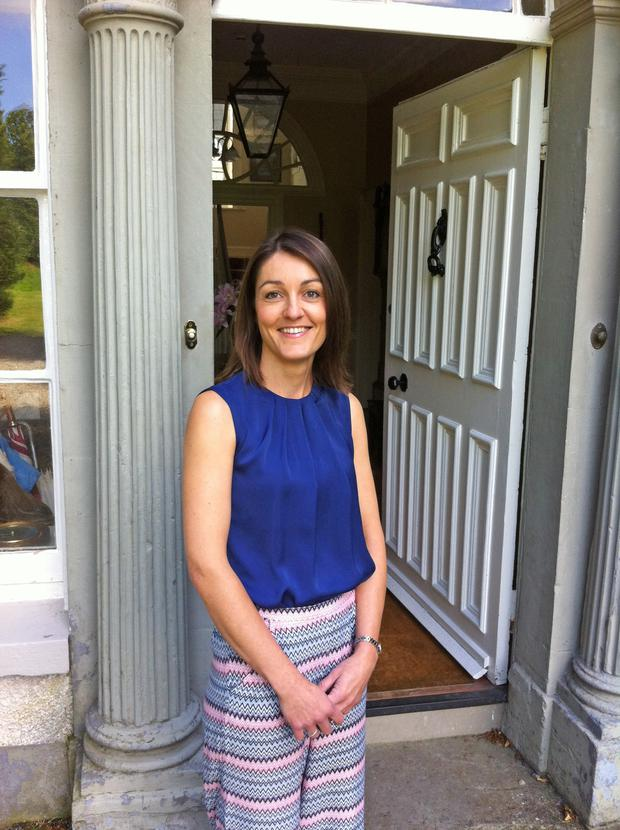 Thriving business: Lou Mathers at Newforge Country House Hotel