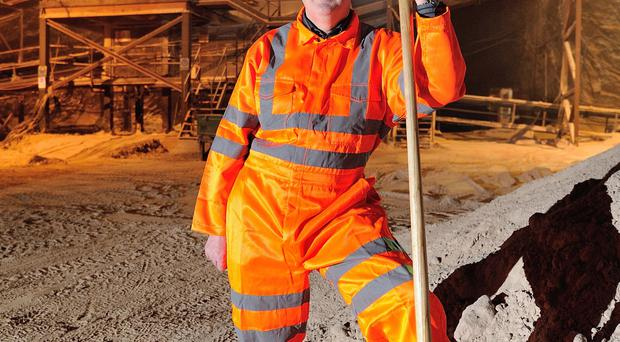 The mine is Ireland's only source of rock salt