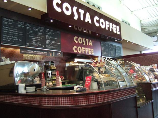Tyrone shop: Costa Coffee