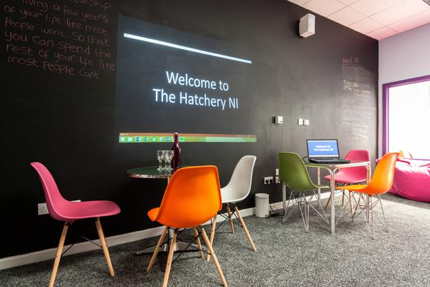 The Avery, an informal training space within The Hatchery at Antrim Enterprise Agency
