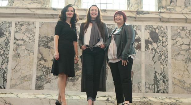 Linzi Conway of KTS, Frances Magee of Dress This House and Vicky Moore of Women in Business