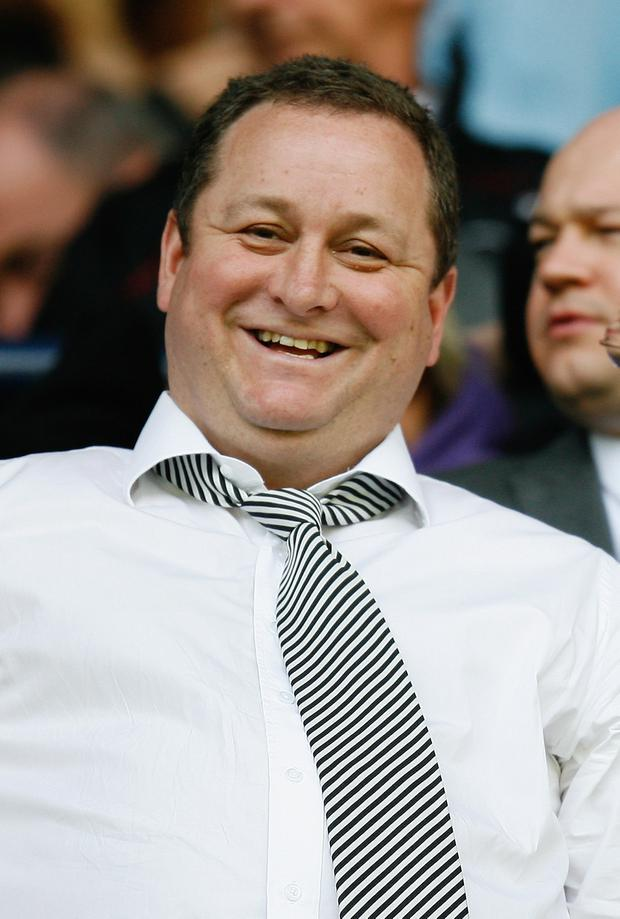 Game changer: Mike Ashley