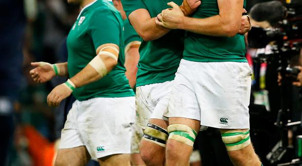 The Rugby World Cup is boosting sales of beer and convenience foods