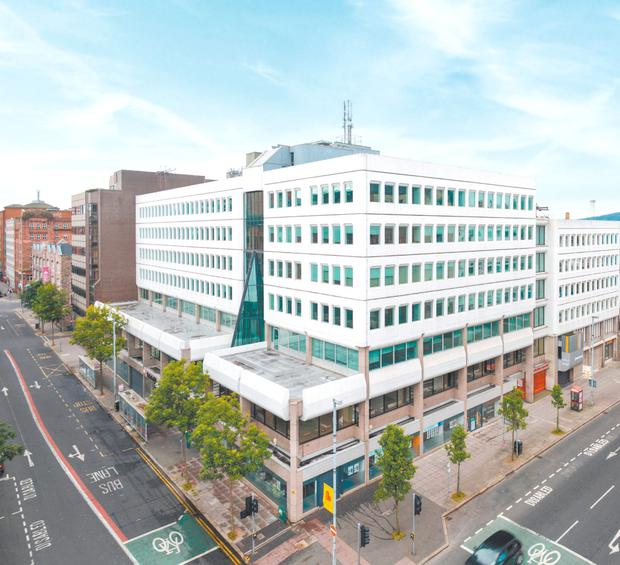Capital House in Belfast city centre is on the market