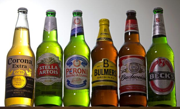 A merger of the two firms would bring together the world's biggest beer groups, with AB InBev potentially adding SABMiller's Peroni and Grolsch brands to its own stable of more than 200 beers