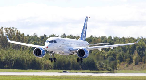 Bombardier's efforts continue to secure orders for its CSeries. The company is led in Northern Ireland by Michael Ryan