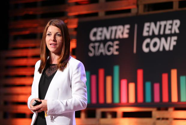 Cristina Reisen at EnterConf